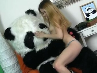 What's the most excellent way to talk the panda bear to join the army? Maybe a sexy breasty..