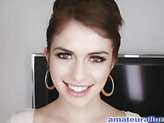 Miley is eighteen years old, very cute and this babe has returned for her 1st cum facial ever!..