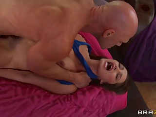 Dani Daniels can't expect for Johnny Sins to be released from jail. This Babe writes him all the..