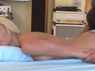 Breasty honey gets her hawt cookie drilled zealously by stud