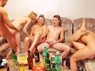 Check out this fantastic fuckfest sex porn clip with horny students banging each other at college..