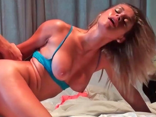 Kennedy Leigh getting nicely drilled in doggystyle and missionary positions