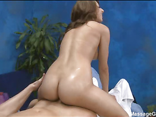 Sexy 18 year old girl gets drilled hard by her massage therapist!
