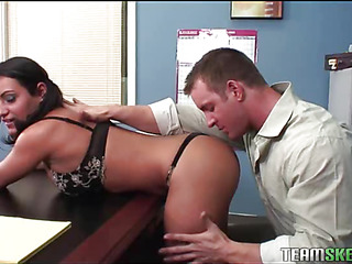 Kinky teacher makes a schoolgirl suck and ride his dick