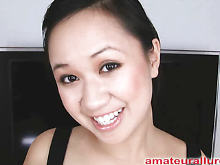 Carmina is a gorgeous twenty year old Oriental student, with a cute little body and an extreme..