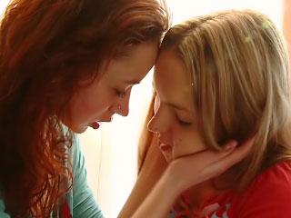 Pure sweet girls secretly love vehement lesbian licks
