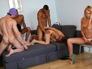 Those hotties love hardcore student group sex more than anything. Watch 'em have a blast at sex..