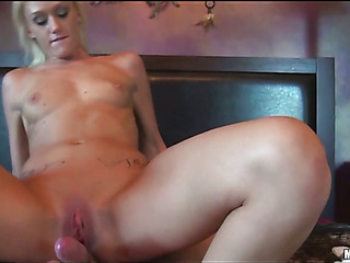 Away from her old folks college slut enjoys hard dongs