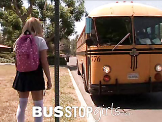 Golden-Haired Lexi Belle and exotic Coco Velvett have to retake an exam that could give a decision whether they graduate, but instead, the schoolgirls start masturbating in front of their teacher, Daniel Hunter. A appealing double oral-stimulation follows and then their teacher bows 'em over his desk for some doggy style and eventually discharges a huge load on their faces.