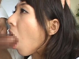 Check up great Asian group sex scene with hawt breasty gals