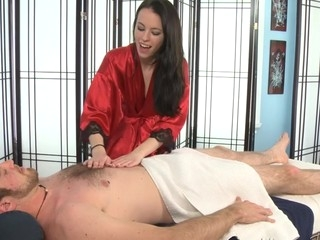 Veronica Radke Likes To Engulf Her Clients Shlong.