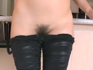 Sex appeal angel is oiling admirable butt previous to sex with stud