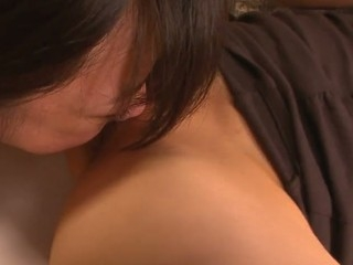 School beauty Aoba Itou gets into a nasty threesome with her boss and his wife and enjoys in..