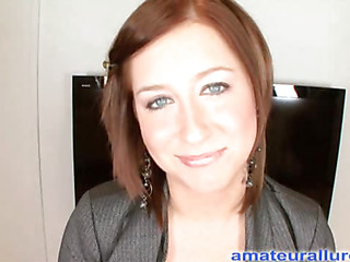 Charlie Ann is a gorgeous redhead with sexy blue eyes, merry whoppers and is 22 years old. That Babe is a secretary in an office and when this babe is bored this babe searches the web for spunk flow porn. A woman after my own heart. This Babe found the Amat