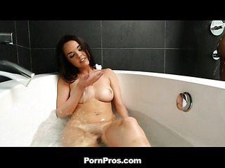 Dillion and Karlie are two gorgeous ladies that have a fun a refreshing shower jointly. They've..